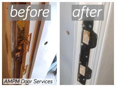Residential door repair services