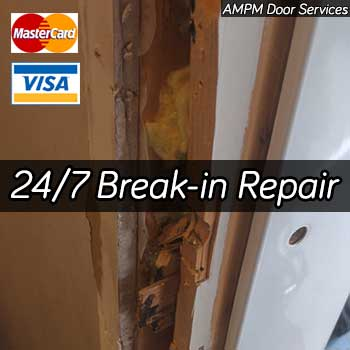 Door break-in repair services in Vancouver BC