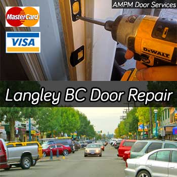 Door repair services in Langley BC