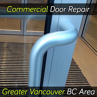 Commercial door repair services