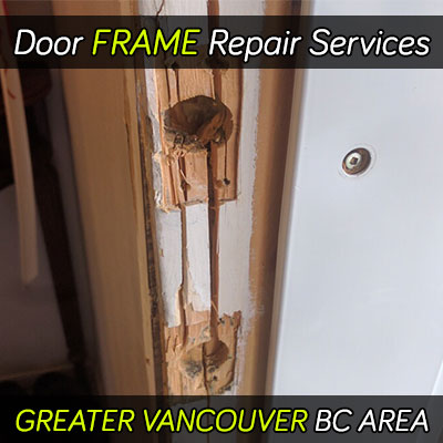 Door frame repair services, Greater Vancouver BC area