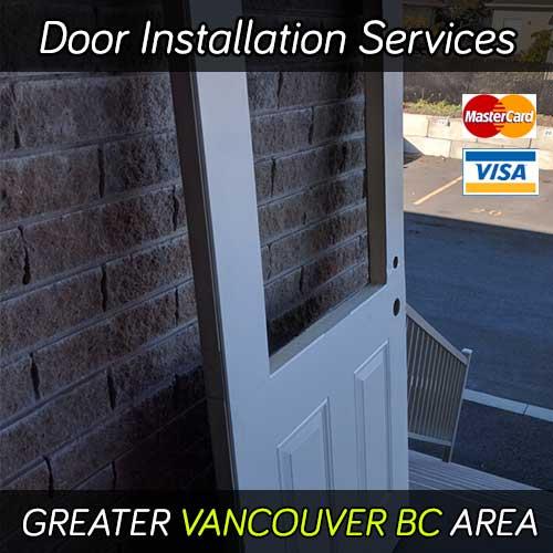 Door installation services Vancouver BC