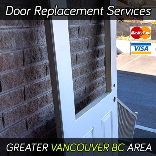 Door replacement services in Vancouver BC area