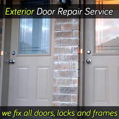 Exterior door repair services