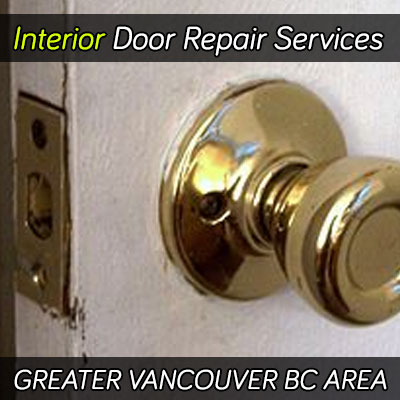 Interior door repair services greater Vancouver BC area