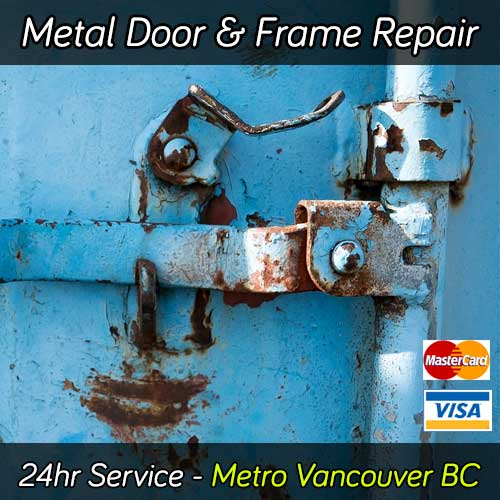 Hollow metal door repair services