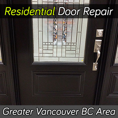 Residential door repair services Vancouver BC