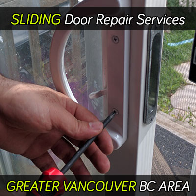 Sliding door repair services in Metro Vancouver area