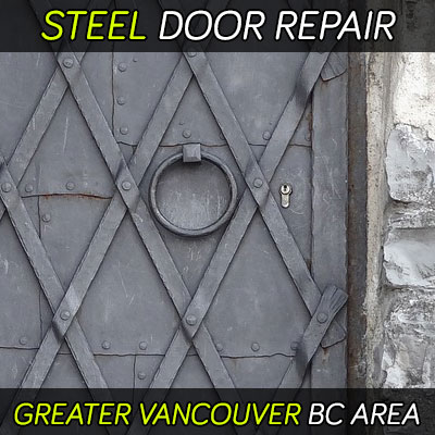 Steel door repair services
