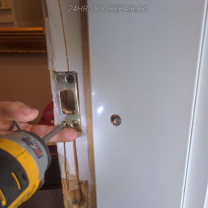 Door Break-in Repair Project | Location: West Vancouver
